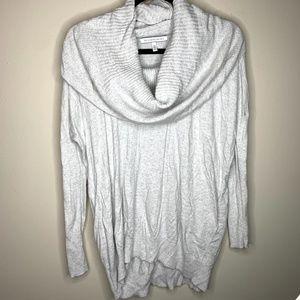 Victoria's Secret Grey Cowl Neck Tunic Sweater XS